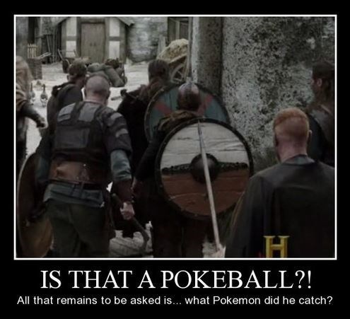 funny Pokémon pokeball vikings - 7979442688
