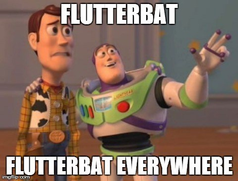 toy story flutterbat everywhere meme - 7979510784