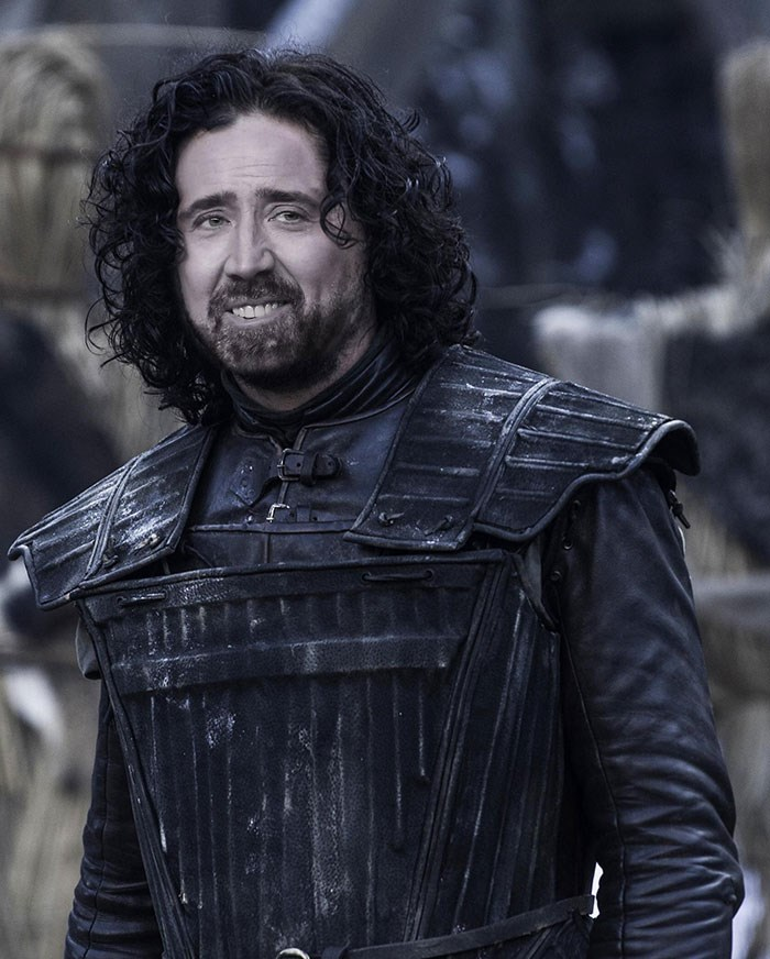 Game of Thrones photoshop nicolas cage photoshop battle