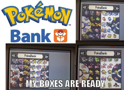 Pokémon,boxes,pokemon bank