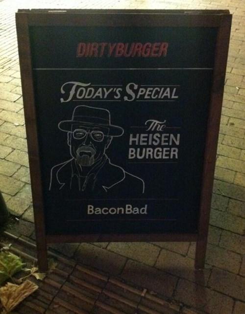 breaking bad heisenberg burgers - 7980163584