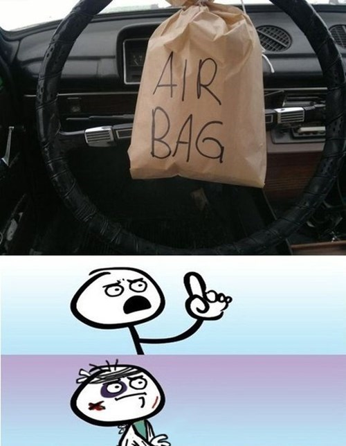 technicalities,air bags