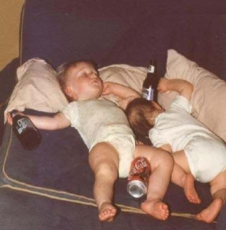 drunk kids funny NYE passed out - 7980216576