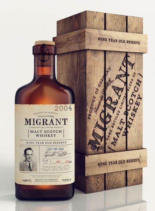 awesome design funny migrant whiskey - 7980238336