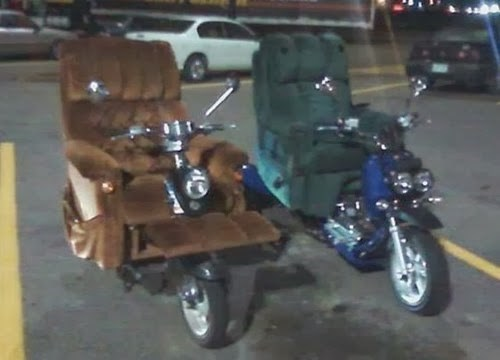 recliners,motorcycles,there I fixed it