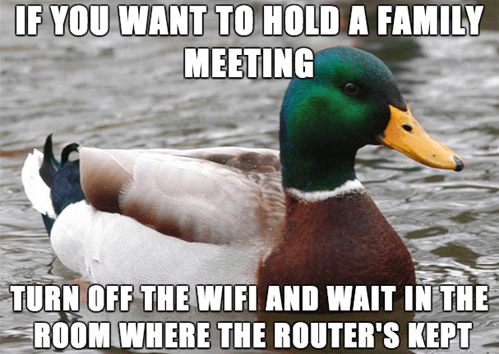 Actual Advice Mallard family Memes the internets