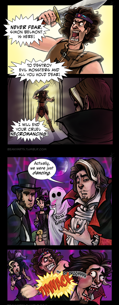 Castlevania vampires web comics Videogames - 7980471808