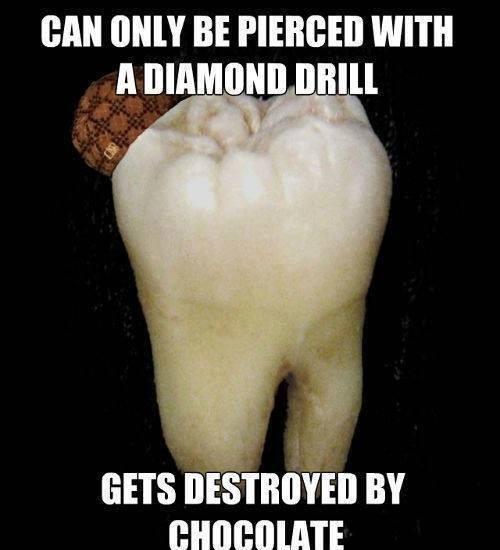 chocolate scumbag teeth - 7980506112