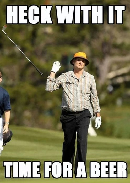 beer,bill murray,golf