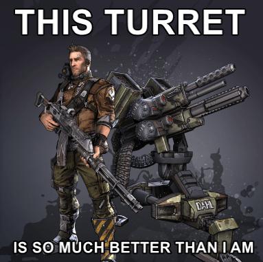 borderlands 2 gamers turrets - 7980528128