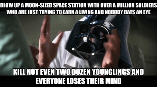 star wars everybody loses their minds - 7980549888
