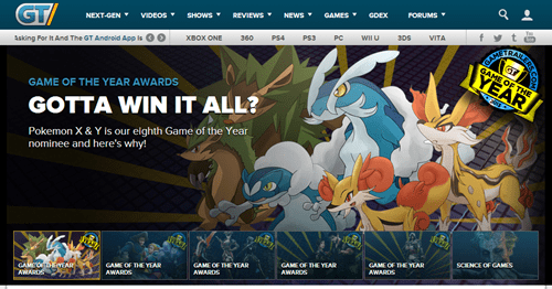 FAIL,game of the year,Pokémon,gametrailers