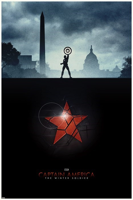 captain america fanmade poster winter soldier - 7980605440