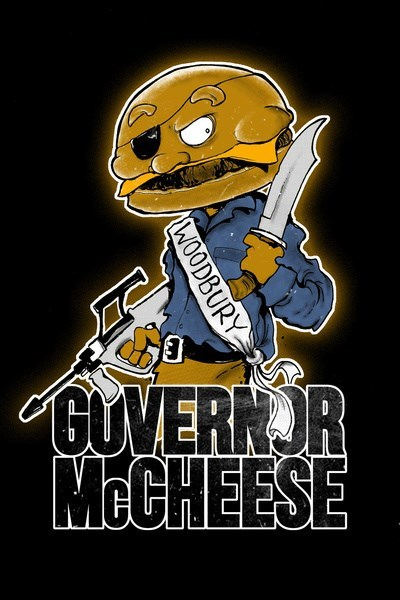 McDonald's the governor mayor mccheese The Walking Dead