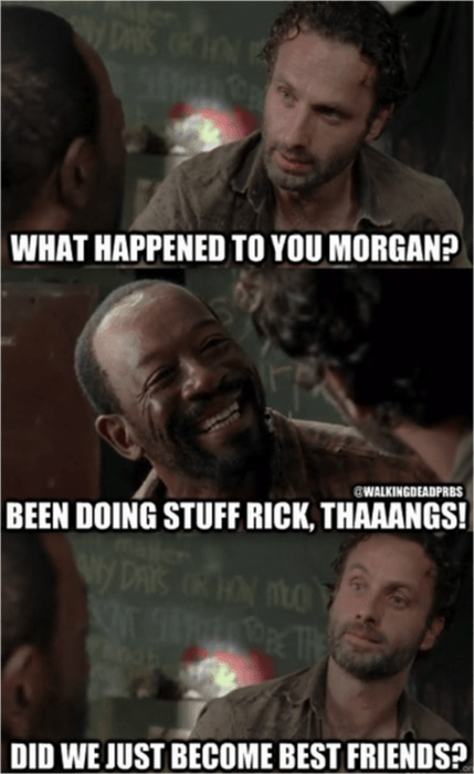 Rick Grimes,morgan,stuff and things