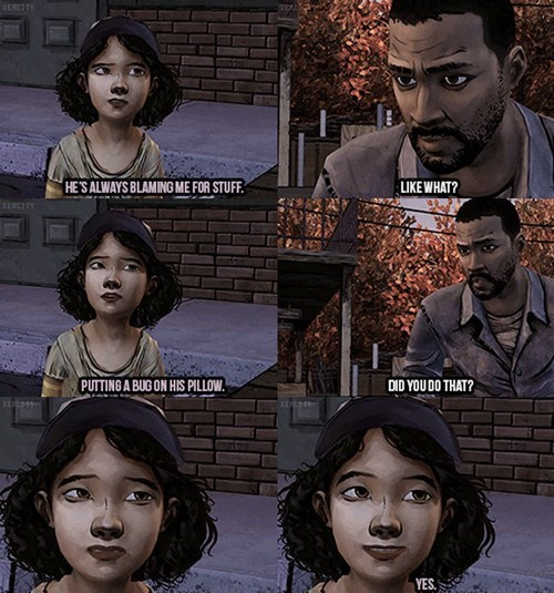 clementine,telltale games,The Walking Dead,lee everett