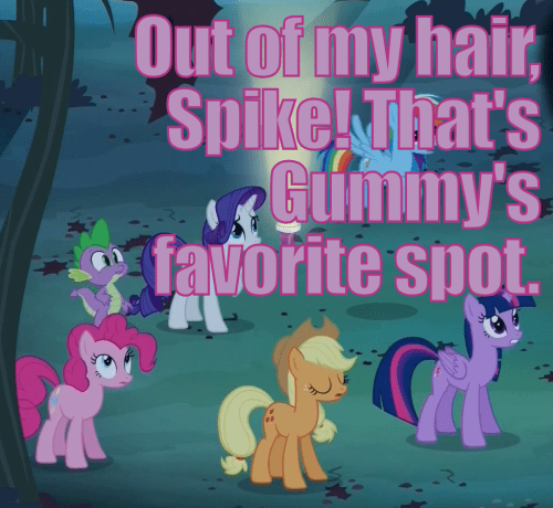 spike pinkie pie gummy - 7980688128