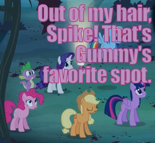 spike pinkie pie gummy - 7980688128