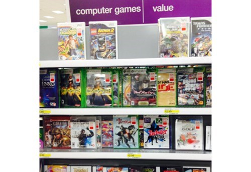 computer games,Target,wtf,wii