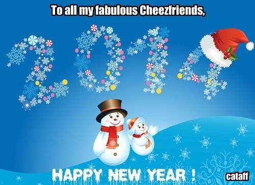 To all my fabulous Cheezfriends, cataff