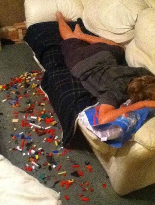 legos,napping