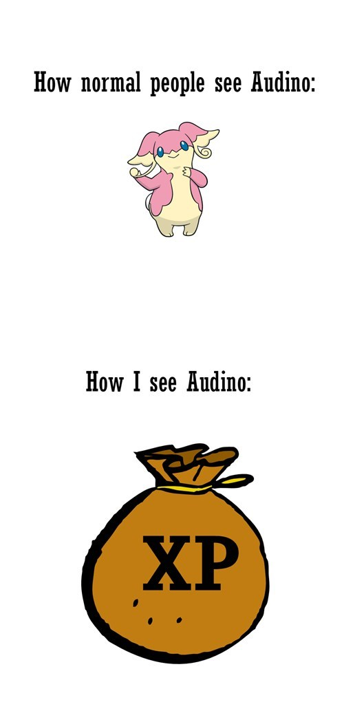 audino,Pokémon,xp