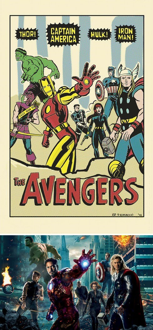 avengers movies off the page - 7981510912