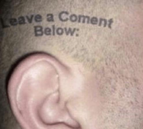ears tattoos - 7981519104
