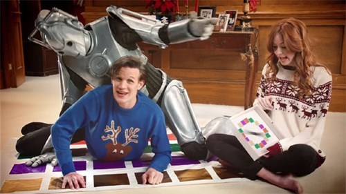 11th Doctor christmas special doctor who cyberman twister - 7981524480