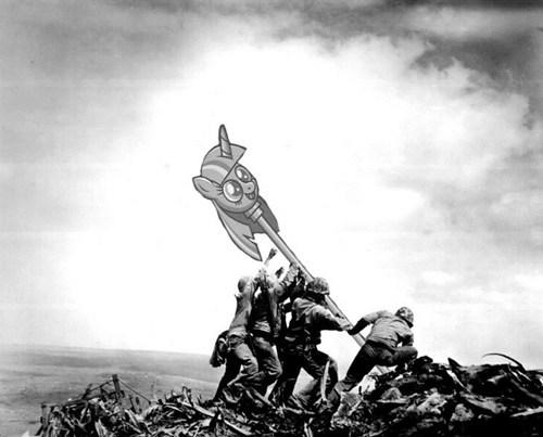 iwo jima twilicane world war II - 7981591552