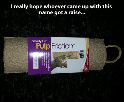 puns products pulp fiction Cats - 7981943808