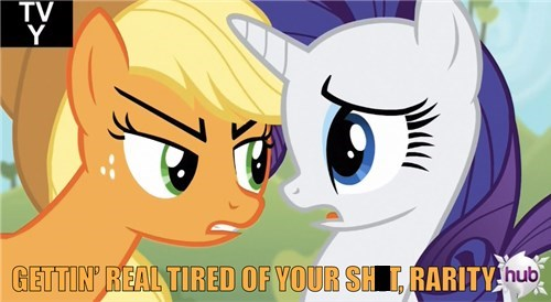 applejack tired rarity - 7982085888