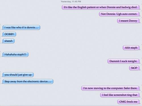 autocorrect,Dobby,stahp,text