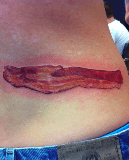 tattoos,bacon