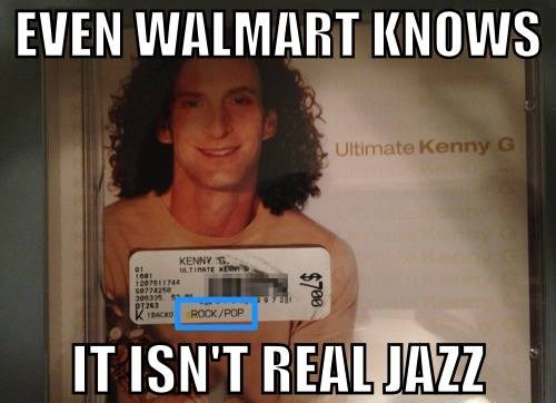 jazz pop music Kenny G fake jazz g rated Music