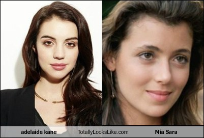 totally looks like,adelaid kane,mia sara