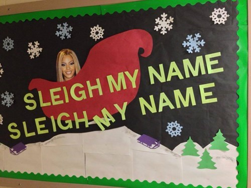beyoncé,puns,say my name,sleigh