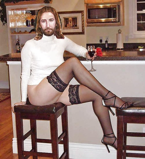 fashion sexy times jesus wine - 7983120384