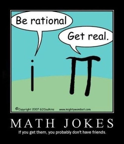 nerds friends jokes funny math - 7983175936