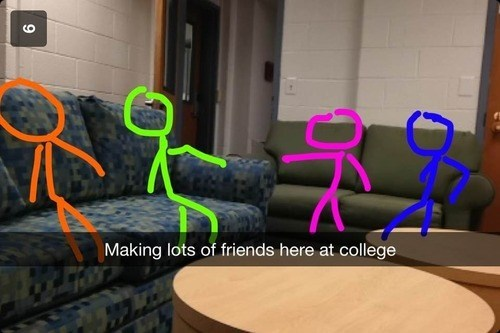 college depressing friends funny - 7983188992