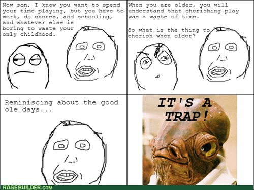 its a trap,childhood,parents