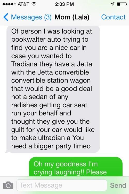 autocorrect moms text AutocoWrecks - 7983270144