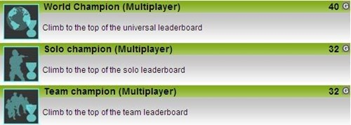 ghost recon Multiplayer achievements - 7983455744