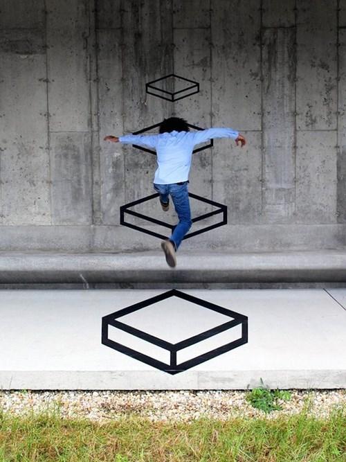 graffiti perspective Street Art - 7983472384