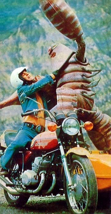 Japan motorcycles monster wtf - 7983571456