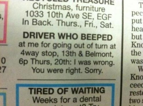 cars apology driving newspaper - 7983625472