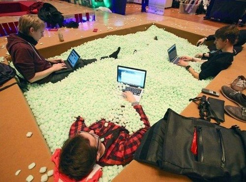 comfy packing peanuts shut up and take my money pool - 7983628288