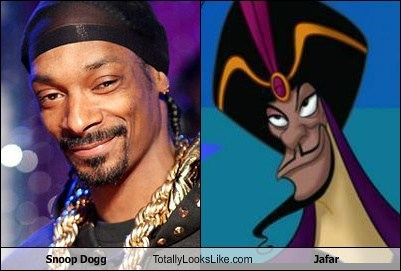 jafar totally looks like snoop dogg