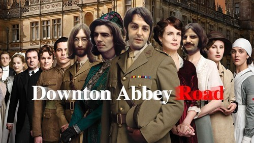 abbey road,downton abbey,the Beatles