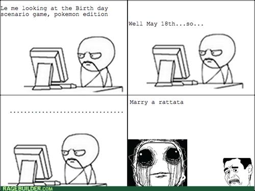 computer guy Memes Pokémon rattata - 7984360192